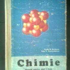 Chimie - Manual pentru anul I liceu - Nenitescu; Constantinescu (EDP, 1975)