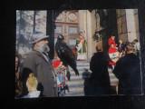 CAREI POSTALA FRANTA-SF HUBERT,CORTEGIU-NECIRCULATA, Fotografie
