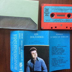 Ion dolanescu romante si cantece de petrecere caseta audio Muzica Populara electrecord, Casete audio