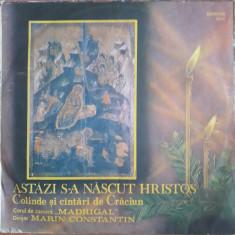 Astăzi s-a născut Hristos - Muzica Religioasa electrecord, VINIL