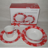 Set ceramica Craciun, pentru 2 persoane, Oriflame