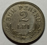 2  Lei 1924 Bruxelles, Cu-Ni, Romania  XF, Cupru-Nichel