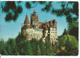 (A) carte postala(1142/2)-KRUGER-Brasov-Castelul Bran, Circulata, Printata