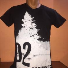 Tricou Dsquared2 Negru Colecție Noua W2018 - Tricou barbati Dsquared2, Marime: XXL