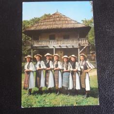 CARTE POSTALA ROMANIA-DANSATOARELE DE LA CAPALNA, Necirculata, Fotografie