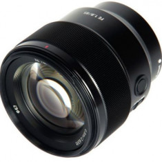 Obiectiv Foto Sony SEL-85F18.SYX 85mm f/1.8 GM (Negru) - Obiectiv DSLR