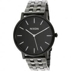 Ceas barbatesc Nixon Porter negru Metal Quartz A1057756
