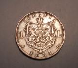 1 leu 1881 Detalii Frumoase