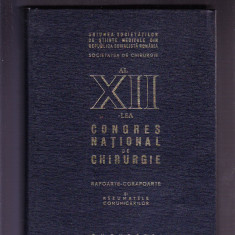 CONGRESUL NATIONAL DE CHIRURGIE RAPOARTE -CORAPOARTE, Alta editura