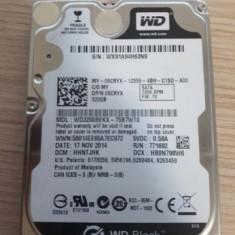 HDD laptop Western Digital 320 GB WD3200BEKX Buffer Size : 16384 KB