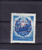 ROMANIA  1950  LP 272 SAPTAMANA PRIETENIEI ROMANO-MAGHIARE SUPRATIPAR  MNH, Nestampilat