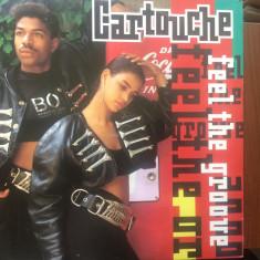 "Cartouche feel the groove maxi single disc 12"" vinyl muzica house techno 1990, VINIL"