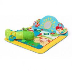 Salteluta de Joaca Cuddly Crocodile - Jucarie interactiva Bright Starts