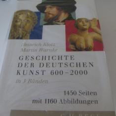 Geschichte der deutschen Kunst in 3 banden