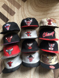 Sapca New Era Chicago Bulls snapback rap hip hop, Alta, Rosu