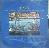Handel - Concertos No. 1-3 and 13 for Organ and Orchestra, VINIL, electrecord