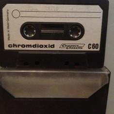 Caseta Audio CHROMDIOXID C60 - Chrome Type II - West Germany