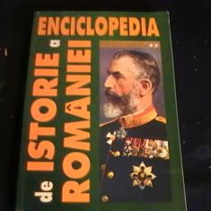 ENCICLOPEDIA DE ISTORIE A ROMANIEI- VOL2-700 PG A 4-I. SCURTU-, Alta editura