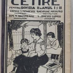 CARTE DE CETIRE PTR CLASA II a URBANA - BUCURESTI 1913