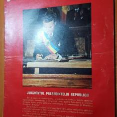 Revista flacara 22 martie 1975-art.si foto despre adamclisi si calarasi