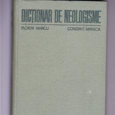 Dictionar didactica si pedagogica DE NEOLOGISME-FLORIN MARCU -CONSTANT MANECA