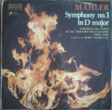 Mahler - Symphony no. 1 in D major, VINIL, electrecord