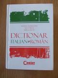 DICTIONAR ITALIAN-ROMAN- ADAMESTEANU- cartonata, 941 pagini