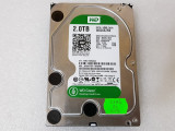 Hard disk  WD Green 2TB SATA-III IntelliPower 64MB WD20EZRX - teste reale, 2 TB, SATA 3, Western Digital