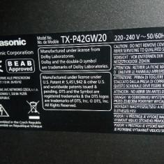 Plasma 2 buc Panasonic TX-P42GW20 - TX-42V20E defect - Televizor plasma Panasonic, 107 cm, Full HD