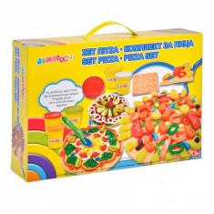 Set creativ plastilina Pizza, accesorii incluse, 3 ani+