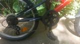 "Bicicleta Kreativ Rocket 2041 20"" rosu Full Suspension, 6, DHS"