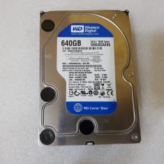 Hard disk Western Digital WD6400AAKS 640GB, 7200RPM, 16MB, SATA2 - teste reale, 500-999 GB, 7200, Western Digital