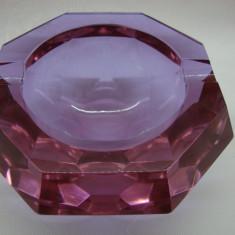 SCRUMIERA DN CRISTAL MASIV - Scrumiera sticla