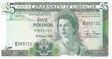 Bancnota Gibraltar 5 Pounds 1988 - P21b UNC