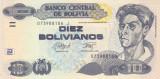 Bancnota Bolivia 10 Bolivianos L.1986 (2015) - P233 UNC