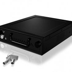 "Rack HDD RaidSonic Icy Box Mobile pentru 3.5"" si 2.5"" HDD/SSD Black"