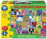 Puzzle in limba engleza - Invata alfabetul, orchard toys