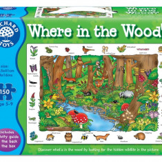 Puzzle orchard toys in limba engleza - In padure