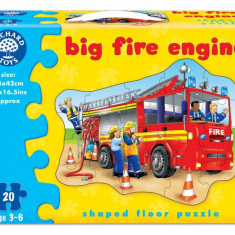 Puzzle orchard toys - Masina de pompieri