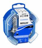 Set 2 becuri auto halogen pentru far Neolux 50% Extra Light H7 55W 12V