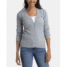 Cardigan US POLO ASSN - Bluze Dama, Femei - 100% AUTENTIC, S, Maneca lunga, Office, US Polo Assn
