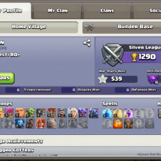 Cont clash of clans th8 max!!