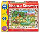 Puzzle in limba engleza - Lumea dinozaurilor, orchard toys