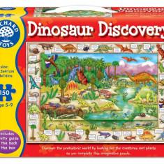 Puzzle orchard toys in limba engleza - Lumea dinozaurilor