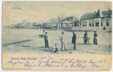 1247 - CAREI, Maramures, Romania, Litho, Market - old postcard - used - 1904, Circulata, Printata