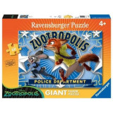 Puzzle Zootopia, Judy&Nick, 60 Piese, Ravensburger
