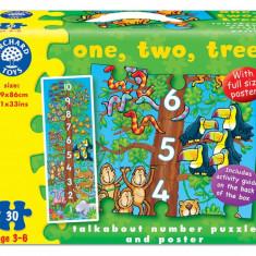 Puzzle - Invatam sa numaram