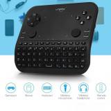 Mini tastatura smart gamepad wireless 6 functii, microfon, audio Jack 3.5 mm, telecomanda, Uniplay