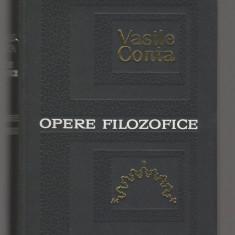 (C8080) OPERE FILOZOFICE DE VASILE CONTA - Carte Filosofie