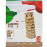 Puzzle 3D Tower of Pisa, cubic fun